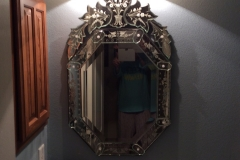 Venetian-powder-bathroom-mirror