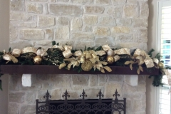 Gold-silver-Christmas-garland